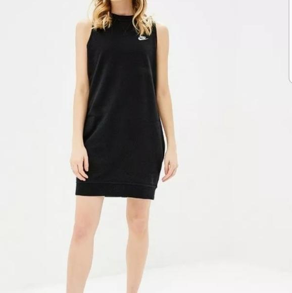 Nike Dresses & Skirts - Nike Sleeveless Sportswear Gym Dress  Small black